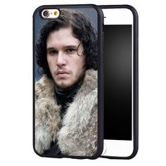 jon snow game of throne Phone Case For iPhone 6 Plus 7 7 Plus 5 SE Rubber Back Cover Shell - Direwolf Shop Direwolf Shop Iphone 6, Iphone Cases, Dire Wolf, 7 Plus, 7 And 7, Jon Snow, Game Of Thrones, Shells, Just For You