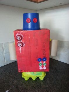 Junk model robot :-D Bank holiday activities