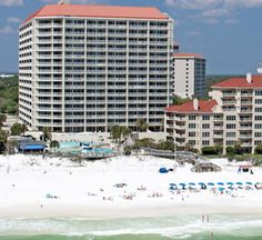 TOPS'L Tides is the Perfect Vacation Location in Destin, Florida on the Gulf Coast. Dream Vacations, Vacation Spots, Destin Florida, Condos, Spring Break, Great Places, Beaches, Skyscraper, Numbers