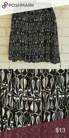 Flowy skirt with owl pattern. 100% rayon. NWT. purchased from Aeropostale. Aeropostale Skirts Midi