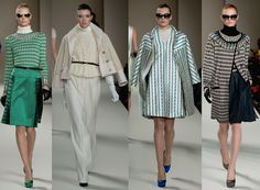Fall 2013 London Fashion Week: Temperley London on http://www.oliviapalermo.com