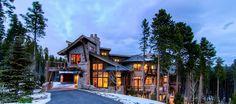 Ski in ski out luxury self-catered chalet Breckenridge Bella Villa di Montagna
