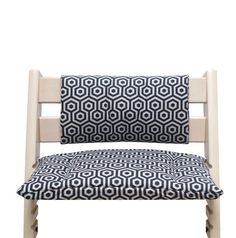 Stokke Tripp Trapp Cushion Set Junior for high chair - Stars Taupe Baby Set, Wooden Baby High Chair, Stokke High Chair, Tripp Trapp Chair, Fire Pit Chairs, Kitchen Chairs, Cool Chairs, Foot Rest, Chair Cushions