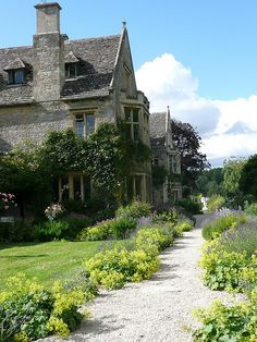 Asthall Manor, Asthall, Oxfordshire. Home to the Mitford family from 1919 to 1926. The house was built in the early 17th century and altered by the Bateman family in the 1890s and by Lord Redesdale in the 1920s.