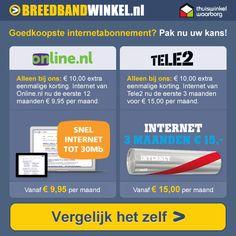 Breedbandwinkel.nl heeft met totaal 140 abonnementen een compleet aanbod van alle landelijke providers. Van al deze abonnementen bieden ze de meest uitgebreide specificaties