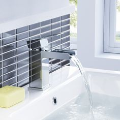 soak.com - Traditional Lookbook - Mixer Taps - Niagra II Modern Chrome Basin Mixer Tap for Bathroom