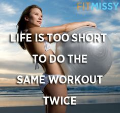 If have plateaued - change it up! #workout #fitness #exercise #loseweight #getfit #strong #healthy   http://www.fitmissy.com/9-week-program/