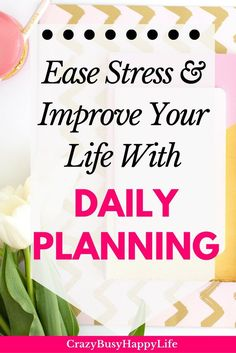 Want more hours in your day? Try daily planning. It can ease stress and improve your life. Just make it a habit. Click through to read more. Planning, digital planner, Erin Condren, The Happy Planner, A5, Bullet Journal, planning system, paper planner, planner stickers