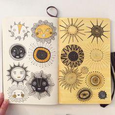 "1,789 Likes, 37 Comments - Heegyum Kim (@hee_cookingdiary) on Instagram: ""Day 29, Sunshine #CBDrawADay #creativebug #moleskineart #sketchbook #sunshine #doodle #linedrawing…"""