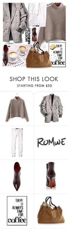 """Untitled #1867"" by hannah353 ❤ liked on Polyvore featuring Alexander Wang, Hollister Co., Santoni, Serfontaine and Mark & Graham"