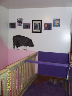 Olivia is going to get a BROTHER! We're adopting a lil' boy, Pumba! Getting their bedroom's ready! Pumba is Purple and Olivia will be Pink :@)