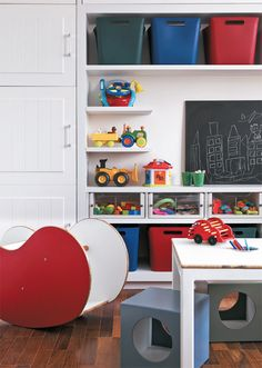 Ideias lúdicas em cinco quartos de crianças - Casa