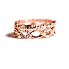 Louisiana meets Sicily Stackable Ring - hardtofind. $70