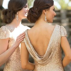 Sorella Vita 8718 bridesmaid is Featuring a boatneck design that highlights an elegant and classy cowl back, blending glamour with a bit of old-hollywood vintage flair. Matte sequins shine while the slight cap sleeve offers the perfect finishing touch to this classic floor-length gown.