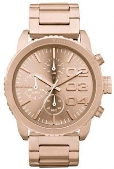 Diesel Women's DZ5318 Advanced Rose Gold Watch Diesel. $162.92. Stainless steel. Chronograph watch. Water-resistant to 10 M (33 feet). Band circumference: 175mm. Durable mineral crystal protects watch from scratches,. Save 28%!