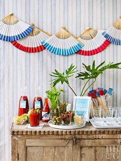 Decorate your home in the spirit of Independence Day with our red, white, and blue 4th of July decorations. These easy decorations cover every July 4th theme you can think of—including flags and fireworks—and they're cute to boot. #fourthofjuly #fourthofjulyideas #fourthofjulyparty #bhg 4th Of July Cake, 4th Of July Celebration, 4th Of July Party, Fourth Of July, Party Kit, Party Ideas, Image Clipart, Art Clipart, 4th Of July Decorations