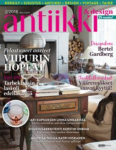 Antiikki & Design 2/2018. Kuva: Pia Inberg