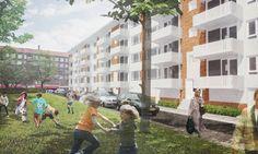 GROZA Dura Vermeer gaat vijf Amsterdamse woonblokken energieneutraal maken http://www.groza.nl www.groza.nl, GROZA