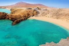 Plage de Papagayo : Lanzarote : une île volcanique aux plages de rêve - Linternaute