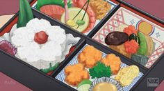 I FOUND A BLOG THAT'S JUST PICTURES OF ANIME FOOD XD