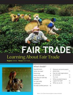 Learn about Fair Trade