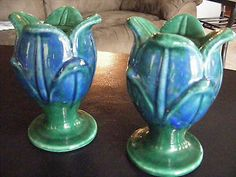 I bought these Royal Haeger candle holders on Ebay.. love them
