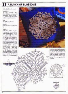 Patterns and motifs: Crocheted motif no. 73