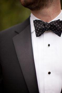 fe6301f2795b3c Iowa State University Wedding by m three studio. Tuxedo Bow TieBlack ...