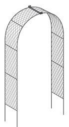 Garden arches – metal garden arches in wirework Garden Arches, Outdoor Structures, Metal, Walkway, Planting, Garden Ideas, Design, Sidewalk, Plants
