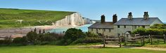 COASTGUARD COTTAGES, CUCKMERE HAVEN - source http://vacationrentals.bg/coastguard-cottages-cuckmere-haven/  by  #condo #chalets #cottage