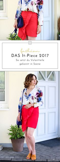 Mega-Trend Volant  - So stylst du die It-Pieces  - Fashion-Trends F/S 2017