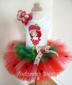 Strawberry Shortcake Tutu Set