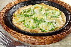 Tarte courgette et Cantal