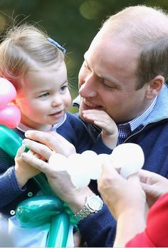 Will and Charlotte attend a children's party on Day 6 of the 2016 Royal Canada tour