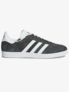 182c24cba32b The Adidas Originals Gazelle Trainer In Solid Grey Men s Lace Up Trainer  From Adidas Originals RangeAn