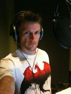 Voice actor Gideon Emery