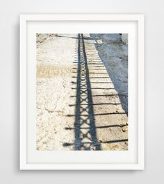 Abstract fence photography, fence wall art print, Greece photography, home decor, wall prints, living room art, large wall decor, by Ikonolexi on Etsy