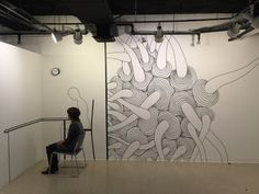 Inyoung Seoung Translates Her Drawings to Murals Using...