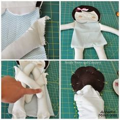 Lots of Doll Making Patterns & Tutorials