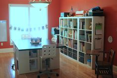 everyday snapshots: A homeschool learning environment from ikea. Simple and practical.