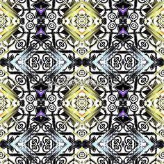 Beauty Geometric Kaleidoscope by Erceylanus