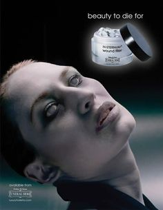 Really? Would anyone buy this skin cream after seeing the ad?