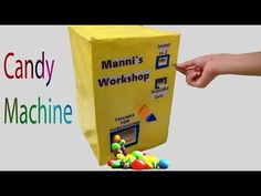 Homemade slime vending machinerequires youtube nail ideas how to make a candy machine easy way youtube ccuart Choice Image