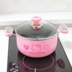 hello kitty pot...to cook cute food, of course