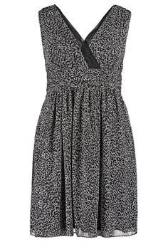 Vestito elegante - cremeweiß/schwarz