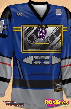 f70633bd4 Soundwave Decepticons Hockey Jersey