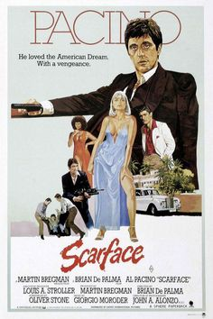 Scarface, one of THE best movies of all time. I come away with a new lesson, catchphrase, every time I watch it.
