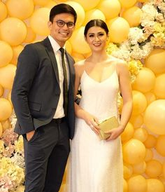 Tom Rodriguez and Carla Abellana (ctto) Lace Wedding, Wedding Dresses, Filipino, Aesthetic Wallpapers, Philippines, Toms, Actresses, Formal Dresses, Couples