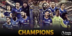 Premier league 2017 تشيلسي بطل الدوري الانجليزي 2017 Yokohama, Champions, Football Team, Premier League, Chelsea, Movie Posters, Movies, Football Squads, Films