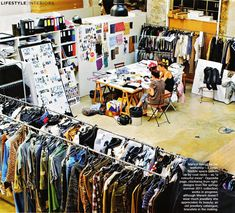 "Isabel Marant describes her workshop as ""a colourful mess"" 